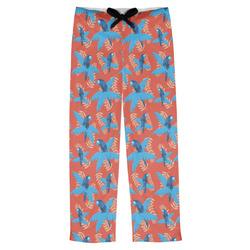 Blue Parrot Mens Pajama Pants (Personalized)