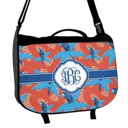 Blue Parrot Messenger Bag (Personalized)