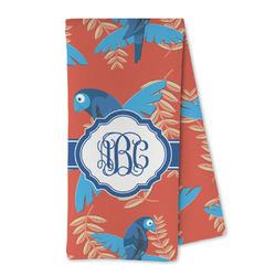 Blue Parrot Microfiber Kitchen Towel (Personalized)