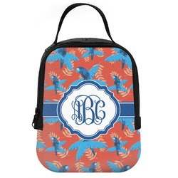 Blue Parrot Neoprene Lunch Tote (Personalized)