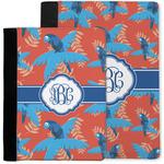 Blue Parrot Notebook Padfolio w/ Monogram