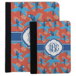 Blue Parrot Padfolio Clipboard (Personalized)