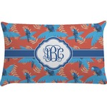 Blue Parrot Pillow Case (Personalized)