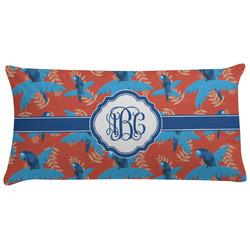 Blue Parrot Pillow Case (Personalized)