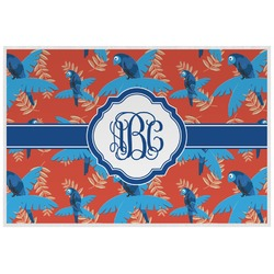 Blue Parrot Placemat (Laminated) (Personalized)