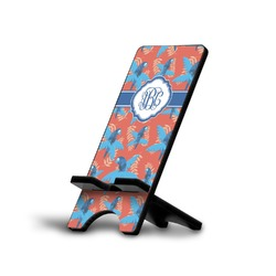 Blue Parrot Phone Stand (Personalized)
