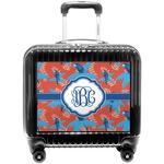 Blue Parrot Pilot / Flight Suitcase (Personalized)