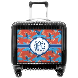 Blue Parrot Pilot / Flight Suitcase (Personalized)