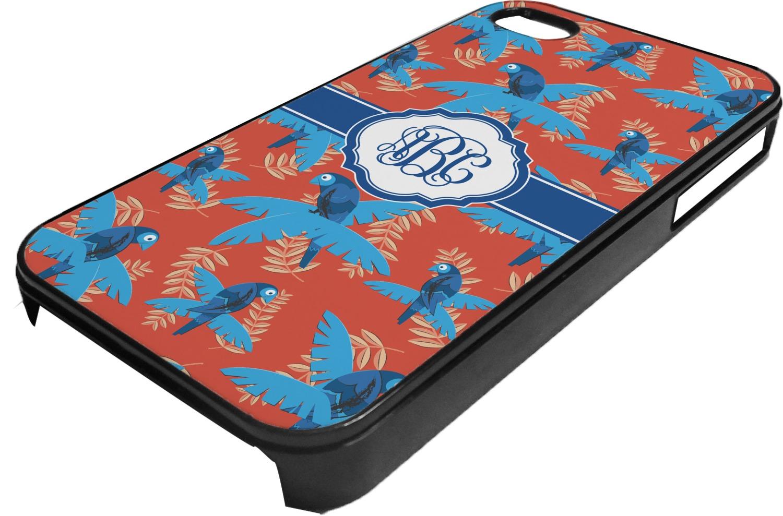 Black Parrot Iphone Case