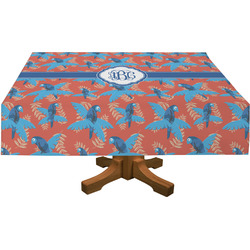 Blue Parrot Tablecloth (Personalized)