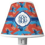 Blue Parrot Shade Night Light (Personalized)