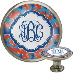 Blue Parrot Cabinet Knobs (Personalized)