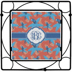 Blue Parrot Trivet (Personalized)
