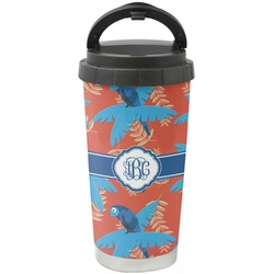 Blue Parrot Stainless Steel Coffee Tumbler (Personalized)