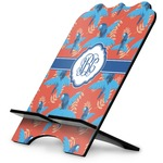 Blue Parrot Stylized Tablet Stand (Personalized)