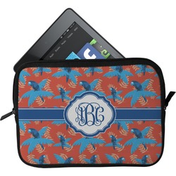 Blue Parrot Tablet Case / Sleeve (Personalized)