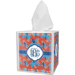 Blue Parrot Tissue Box Cover (Personalized)