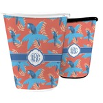 Blue Parrot Waste Basket (Personalized)