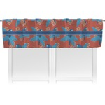 Blue Parrot Valance (Personalized)