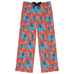 Blue Parrot Womens Pajama Pants (Personalized)