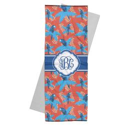Blue Parrot Yoga Mat Towel (Personalized)