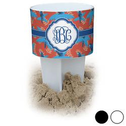 Blue Parrot Beach Spiker Drink Holder (Personalized)
