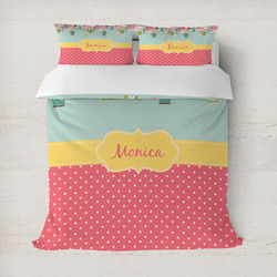 Easter Birdhouses Duvet Covers (Personalized)