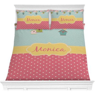 Easter Birdhouses Comforters (Personalized)