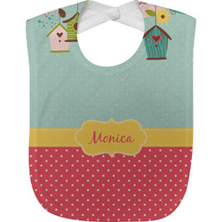 Easter Birdhouses Baby Bib (Personalized)