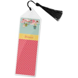 Easter Birdhouses Book Mark w/Tassel (Personalized)