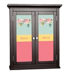 Easter Birdhouses Cabinet Decal - Custom Size (Personalized)