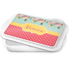 Easter Birdhouses Cake Pan (Personalized)