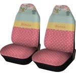 Easter Birdhouses Car Seat Covers (Set of Two) (Personalized)