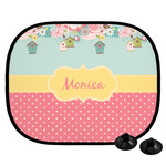 Easter Birdhouses Car Side Window Sun Shade (Personalized)