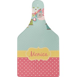 Easter Birdhouses Cheese Board (Personalized)