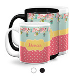 Easter Birdhouses Coffee Mugs (Personalized)