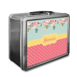 Easter Birdhouses Lunch Box (Personalized)