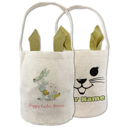 Easter Birdhouses Easter Basket (Personalized)