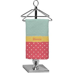 Easter Birdhouses Finger Tip Towel - Full Print (Personalized)