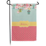 Easter Birdhouses Garden Flag - Single or Double Sided (Personalized)