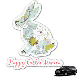 Easter Birdhouses Graphic Car Decal (Personalized)