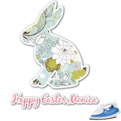 Easter Birdhouses Graphic Iron On Transfer (Personalized)
