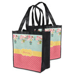 Easter Birdhouses Grocery Bag (Personalized)