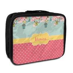 Easter Birdhouses Insulated Lunch Bag (Personalized)