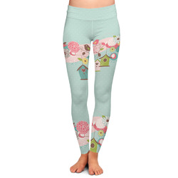Easter Birdhouses Ladies Leggings (Personalized)