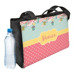 Easter Birdhouses Ladies Workout Bag (Personalized)