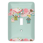 Easter Birdhouses Light Switch Covers (Personalized)