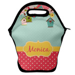 Easter Birdhouses Lunch Bag (Personalized)