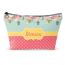 Easter Birdhouses Makeup Bags (Personalized)