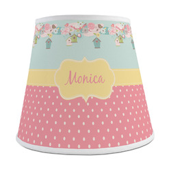 Easter Birdhouses Empire Lamp Shade (Personalized)